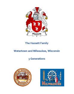 Hassett Family Wisconsin