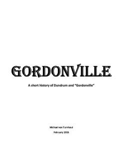 Gordonville