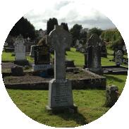 Irish cementary